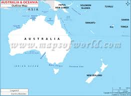 Blank Map Of Continents And Oceans Worksheet by Outline Map Of Australia Continent You Can See A Map Of Many