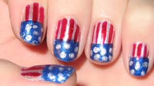 awesome fourth of july nail art abc news