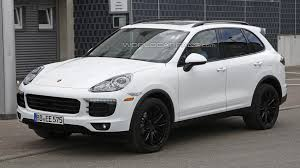 2015 porsche cayenne facelift barely disguised porsche cayenne facelift spied once more