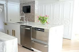 kitchen islands with dishwasher kitchen island with dishwasher charlieshandles com
