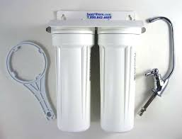 under sink water filter reviews best under sink water filter two stage system for municipal supplies