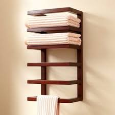Shelves For Towels In Bathrooms Wooden Towel Rail Towel Racks Towel Rack Karpenter Bathroom