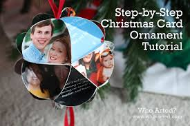 card ornament step by step who arted