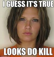 Funny Woman Memes - attractive convict meme woman revealed as mom of four florida