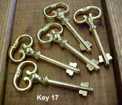skeleton key locks for cabinets reproduction and antique skeleton key blanks