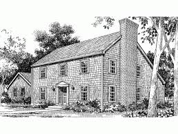 Saltbox House Floor Plans Salt Box House Plan With 2036 Square Feet And 3 Bedrooms From