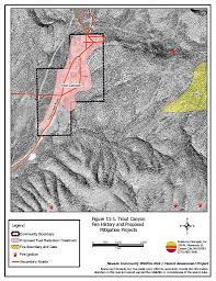 Wildfire History by 11 0 Trout Canyon Clark County Fire Plan Nevada Community