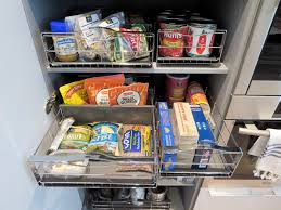 Kitchen Cabinet Pantry Pull Out Install Easy Pull Out Drawers These Happen To Be By Simple Human
