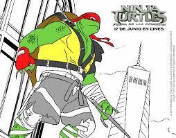 colored raphael ninja turtles painted registered