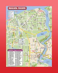 Niagra Falls Map 3d Mobimaps Map Guides Niagara Falls Maps