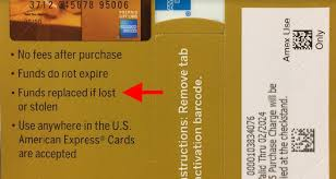 gift cards online purchase when an amex gift card winds up in the wrong in