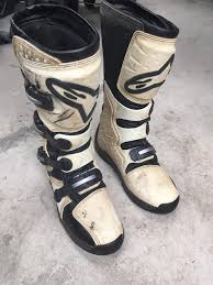 alpinestar tech 3 motocross boots alpinestars tech 3 motocross boots size 9 in chester le street