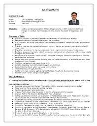 Outside Sales Resume Sample by Pharmaceutical Rep Resume Contegri Com