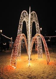 Christmas Light Decoration Ideas by Outdoor Deer Christmas Decorations U2013 Decoration Image Idea