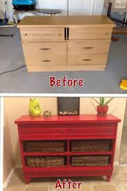 Painted Furniture Ideas Before And After Best 25 Old Dresser Makeovers Ideas On Pinterest Dresser