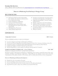 Food Customer Service Resume Food Industry Resume Free Resume Example And Writing Download