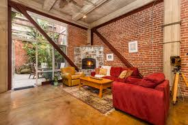 Brick Loft for lease 201 third street outstanding brick and steel loft