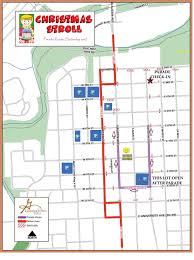Austin Downtown Map by City Of Georgetown Texas