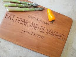 wedding gift engraving ideas wedding ideas personalized wood cutting boards wedding gift