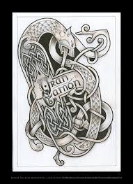 celtic beast tattoo design by tattoo design deviantart com on