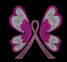 31 best awareness cancer design images on rhinestones