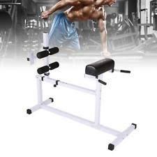 Back Extension Sit Up Bench Roman Chair Gym Workout U0026 Yoga Ebay