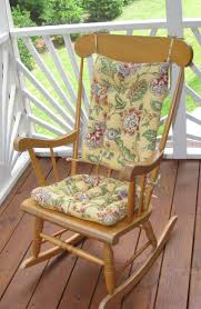 White Patio Rocking Chair by Admirable Outdoor Rocking Chair Cushions About Remodel Furniture