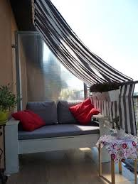Small Patio Shade Ideas Best 25 Balcony Privacy Ideas On Pinterest Balcony Curtains