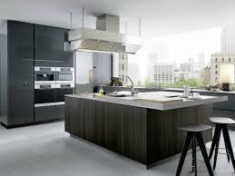 Kitchen With Center Island Lacquered Wooden Kitchen With Island Artex By Varenna By Poliform