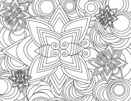 existance printable coloring pages detailed geometric 487789