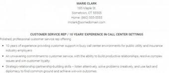 Resume Examples For Call Center Customer Service by How To Write A Customer Service Resume