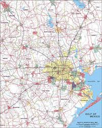 map of houston area maps wall maps and zipcode maps
