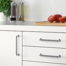 installing ikea kitchen cabinet handles bagganäs handle stainless steel 5 5 8 ikea