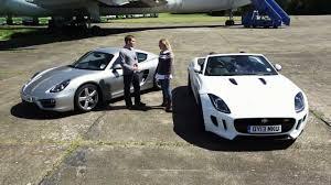 porsche cayman s vs boxster s 2013 jaguar f type vs 2013 porsche cayman which car review