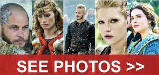 Seeking Cast Maude The Cast Of Vikings In Real Worldation