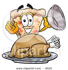 thanksgiving pizza clip clipart free