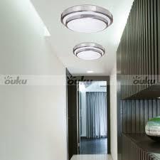 flush mount fluorescent kitchen lighting modern silver round flush mount lighting ceiling light chandelier