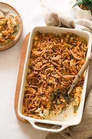 green bean casserole without soup