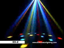 Eliminator Lighting Eliminator Lighting Ex 2 Multi Colored Moonflower Effect Dj Light