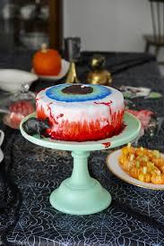 how to make a bloodshot eyeball cake ramshackle glam