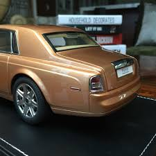 roll royce brown 1 18 kyosho rolls royce phantom extended wheelbase open clost car