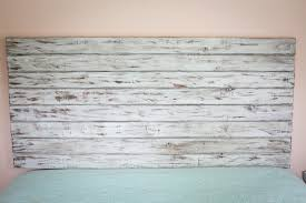 Distressed Wood Headboard Rustic White Size Headboard Floating Headboard Distressed