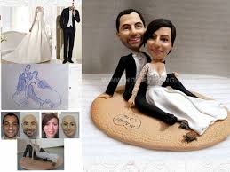 customized cake toppers custom cake toppers figurines sandbeach my custom figurines