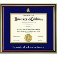 diploma framing of california berkeley mahogany gold diploma frame