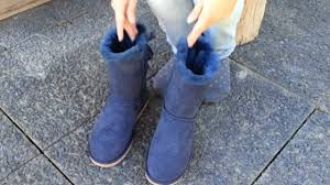 s navy ugg boots ugg bailey bow navy 1002954