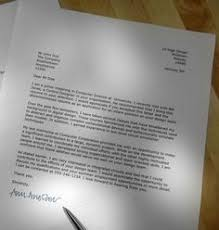 use this example to write your own job application letter cover