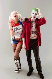 Womens Joker Halloween Costume Rock Squad U0027s Joker Harley Quinn Couples