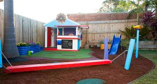 how to turn your backyard into a kids u0027 playground better homes