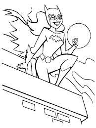 batgirl coloring pages bestofcoloring com