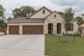 1 Story Homes The Forest Grove Neighborhood Round Rock Texas